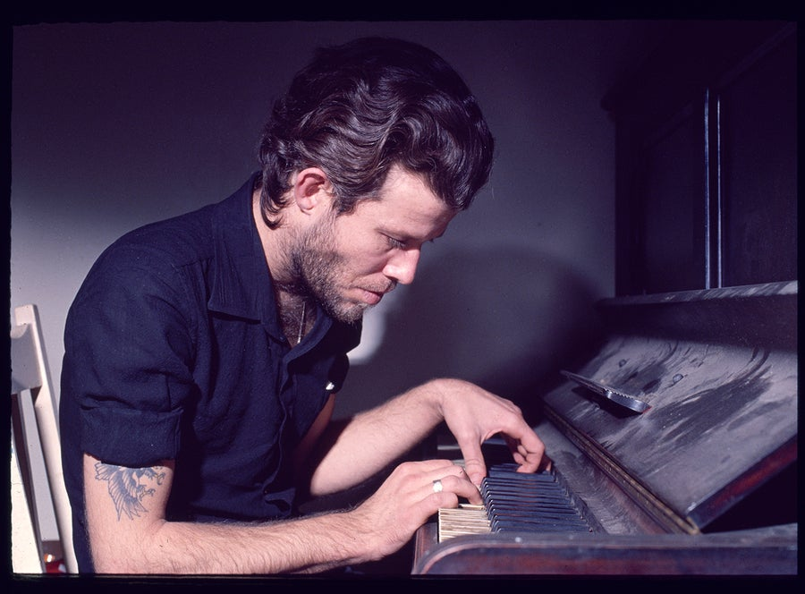 Image of Tom Waits On A Dusty Piano