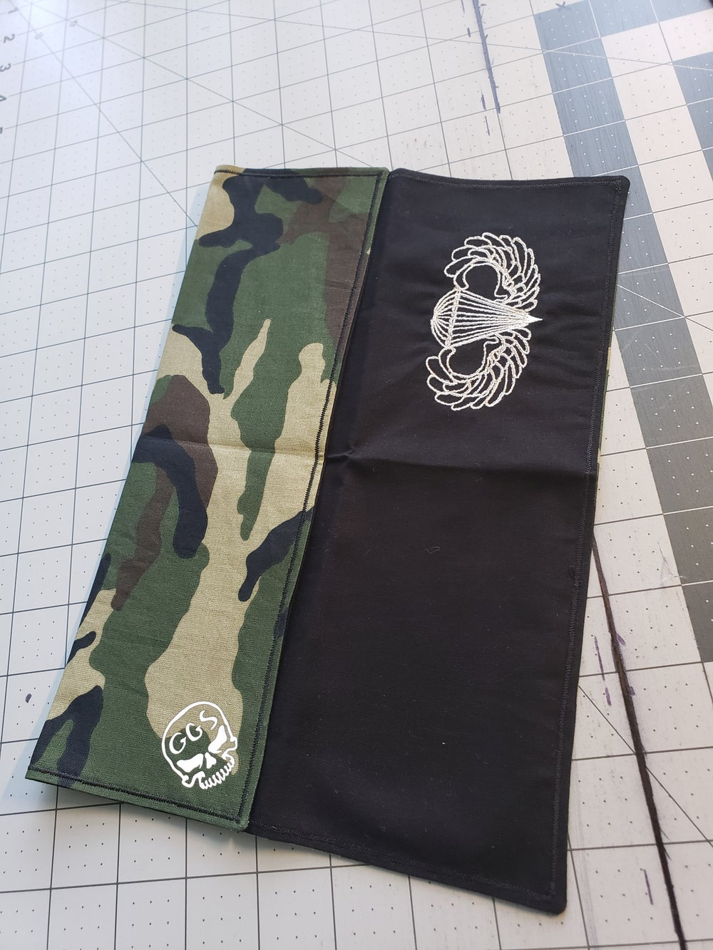 Image of Airborne Embroidered