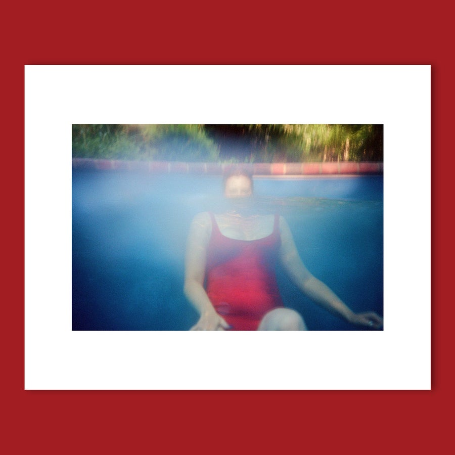 Image of 'MAYA IN RED SWIMSUIT' 8X10 PRINT