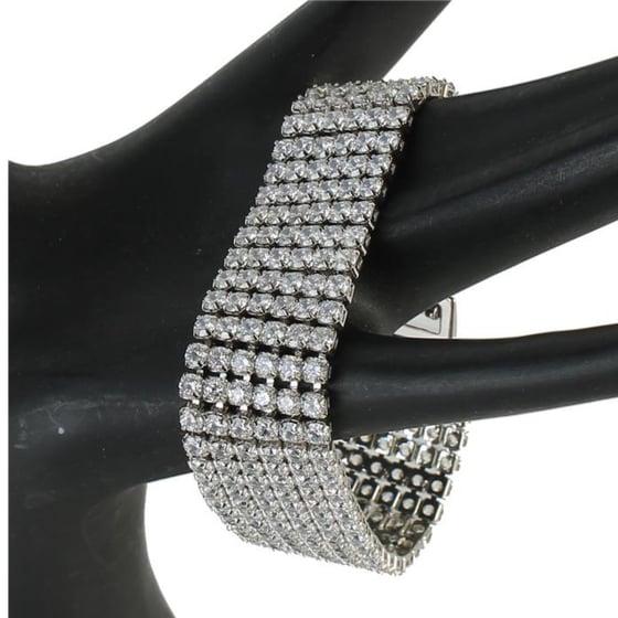 Image of CZ Glamour Bracelet