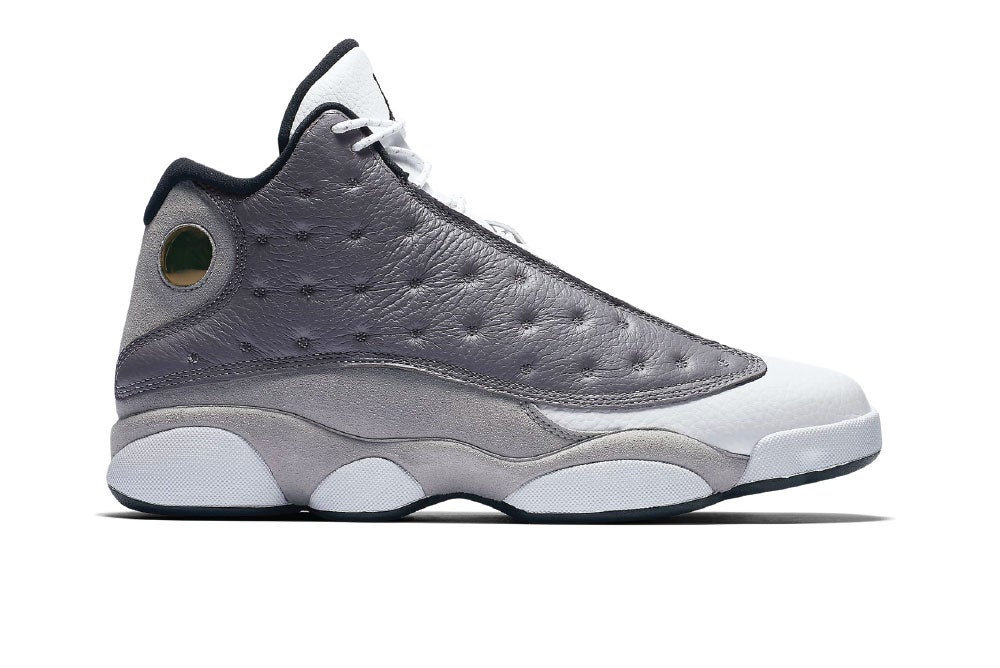 Image of Jordan 13 Retro Atmosphere Grey 414571-016