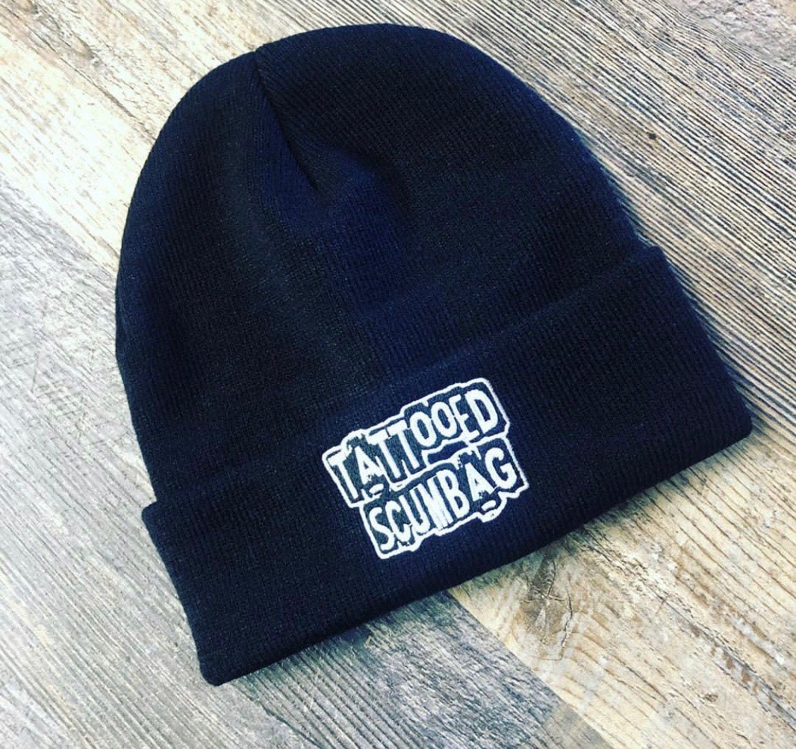 Image of Tattooed Scumbag Beanie