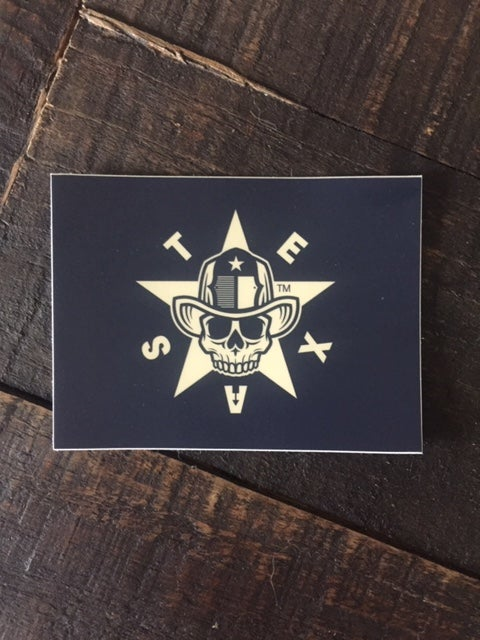 Image of Texas Flag Sticker