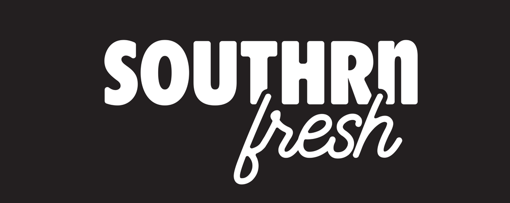 """Image of Southrnfresh Version 4 5"""" Decal"""