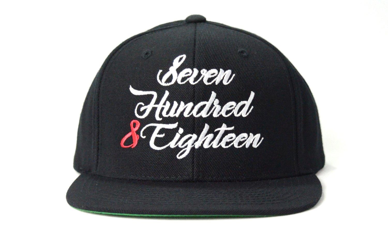 Image of SEVEN HUNDRED & EIGHTEEN - SNAPBACK