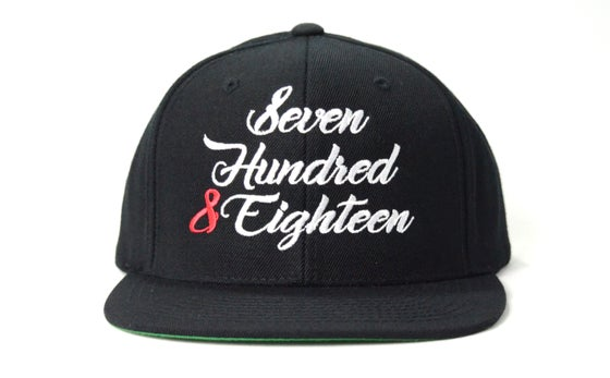 Image of SEVEN HUNDRED & EIGHTEEN - SNAPBACK