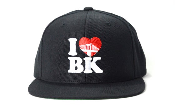 Image of I LOVE BK - SNAPBACK