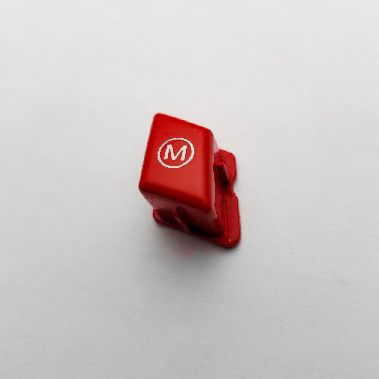 Image of Gloss Red M Steering Wheel Button