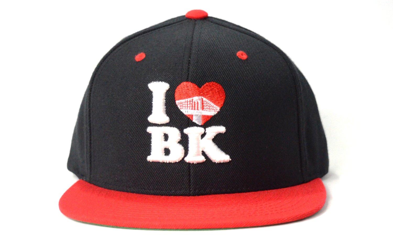 Image of I LOVE BK (BLACK/WHITE/RED) - SNAPBACK