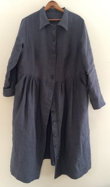 Image of linen dress or duster