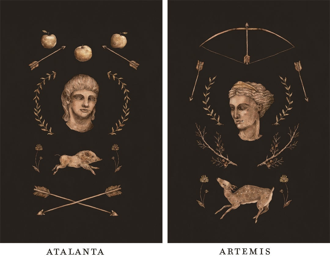 Image of Atalanta and Artemis Fine Art Prints