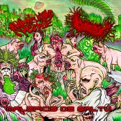 "Image of Animals Killing People/Gorepot ""Maleficis De Saltu"" Split CD 2019 OUT NOW!!!!"