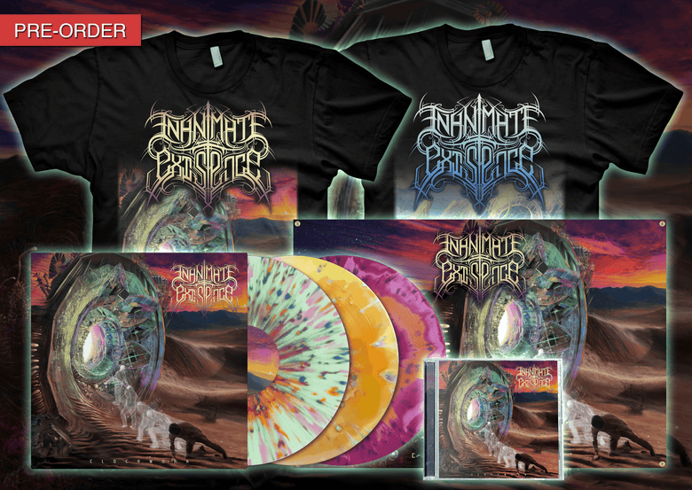 Image of INANIMATE EXISTENCE - Clockwork - Collector Bundle