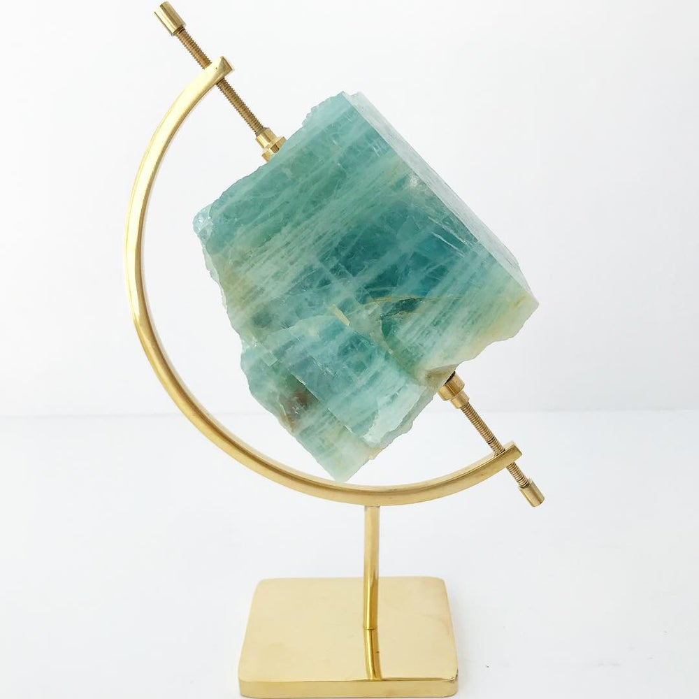 Image of no.02 Aquamarine Collection Brass Pairing