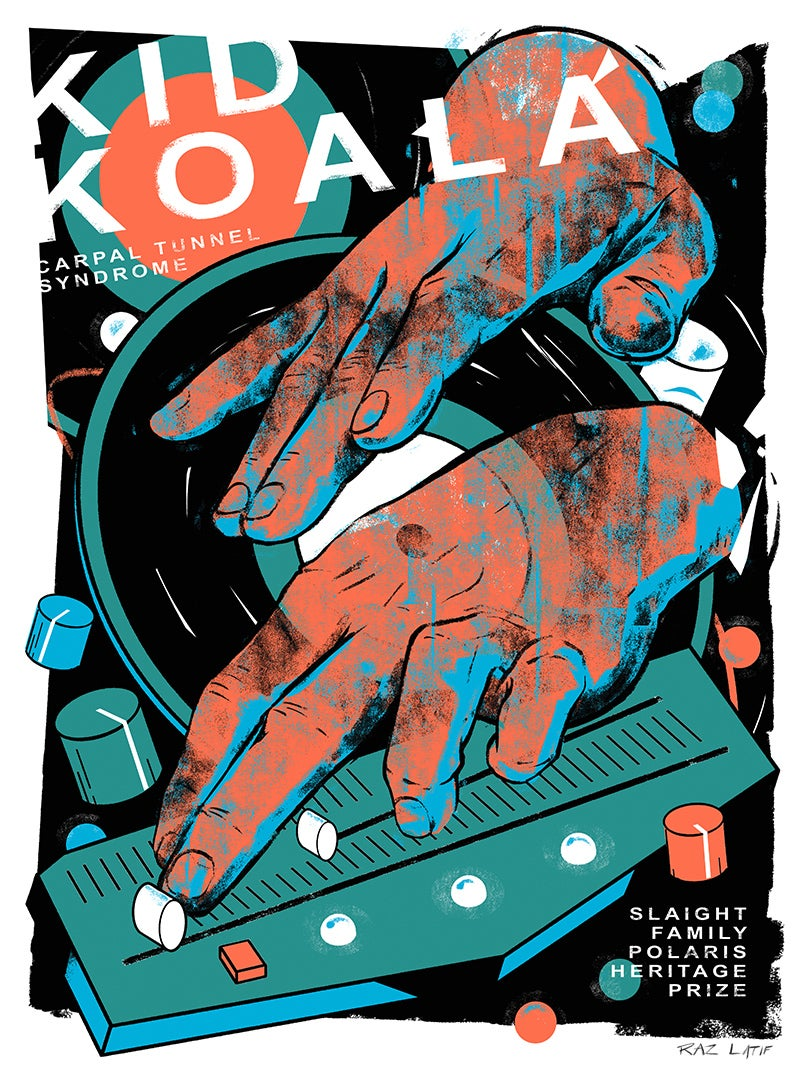 "Image of ""Kid Koala"" Limited-Edition Screen Print"