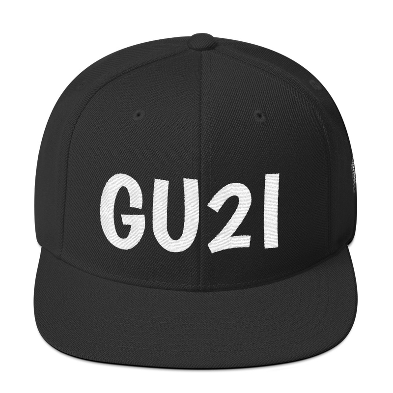 Image of GU2I (Get Use 2 It) Logo Snapback Cap