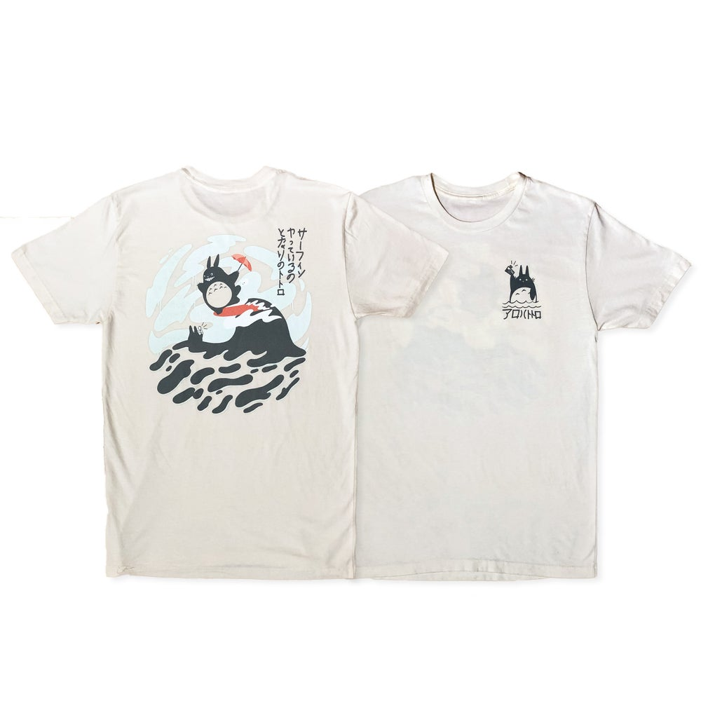 Image of (Pre-order) Totoro T-Shirt / Natural White