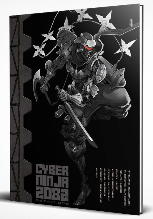 Image of CYBER NINJA 2082 (limited hardcover edition)