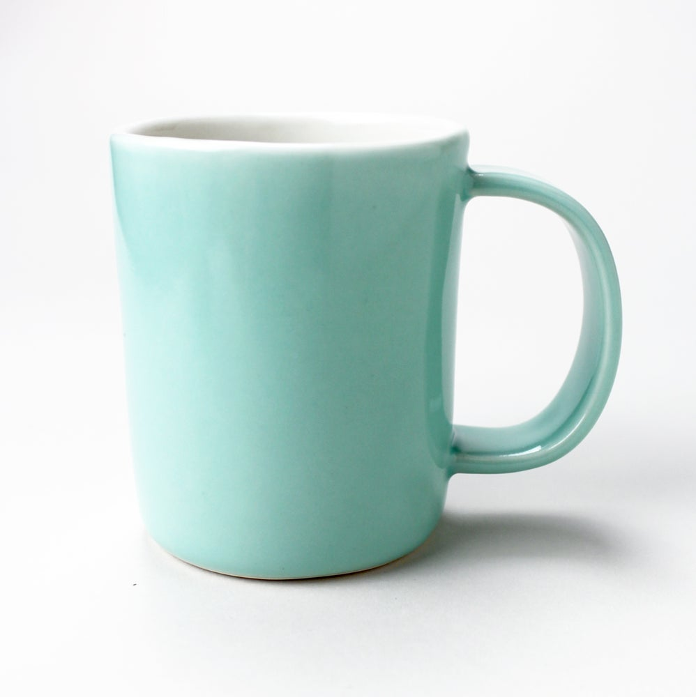 Image of 10oz mug, aqua