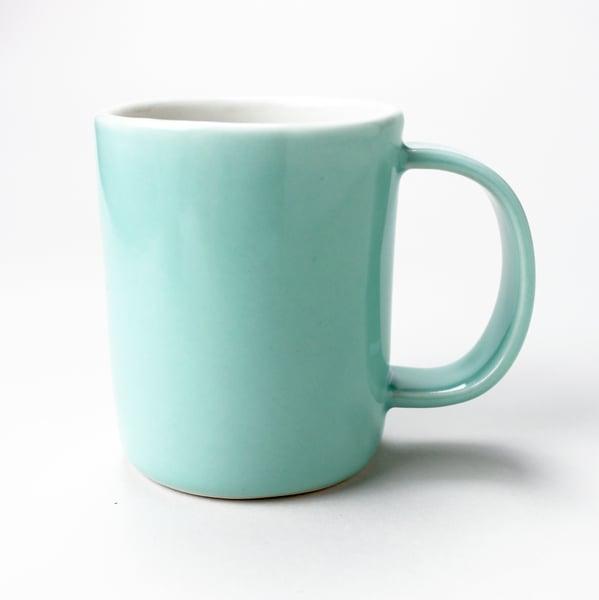 Image of 10oz mug, aqua
