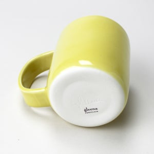 Image of 10oz mug, mustard