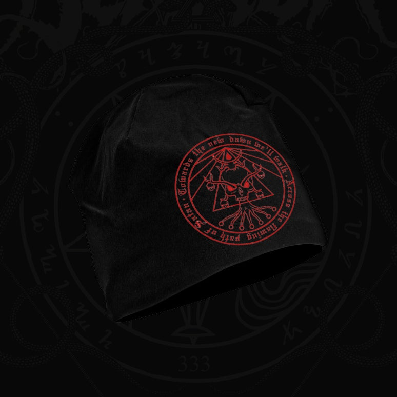 "Image of ""Death's Black Light"" beanie"