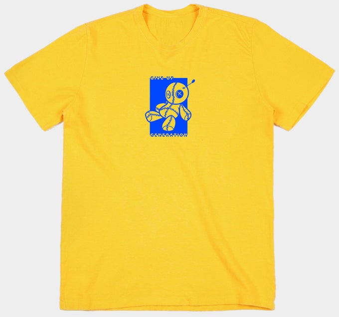 Image of Yellow Voodoo Doll T-shirt