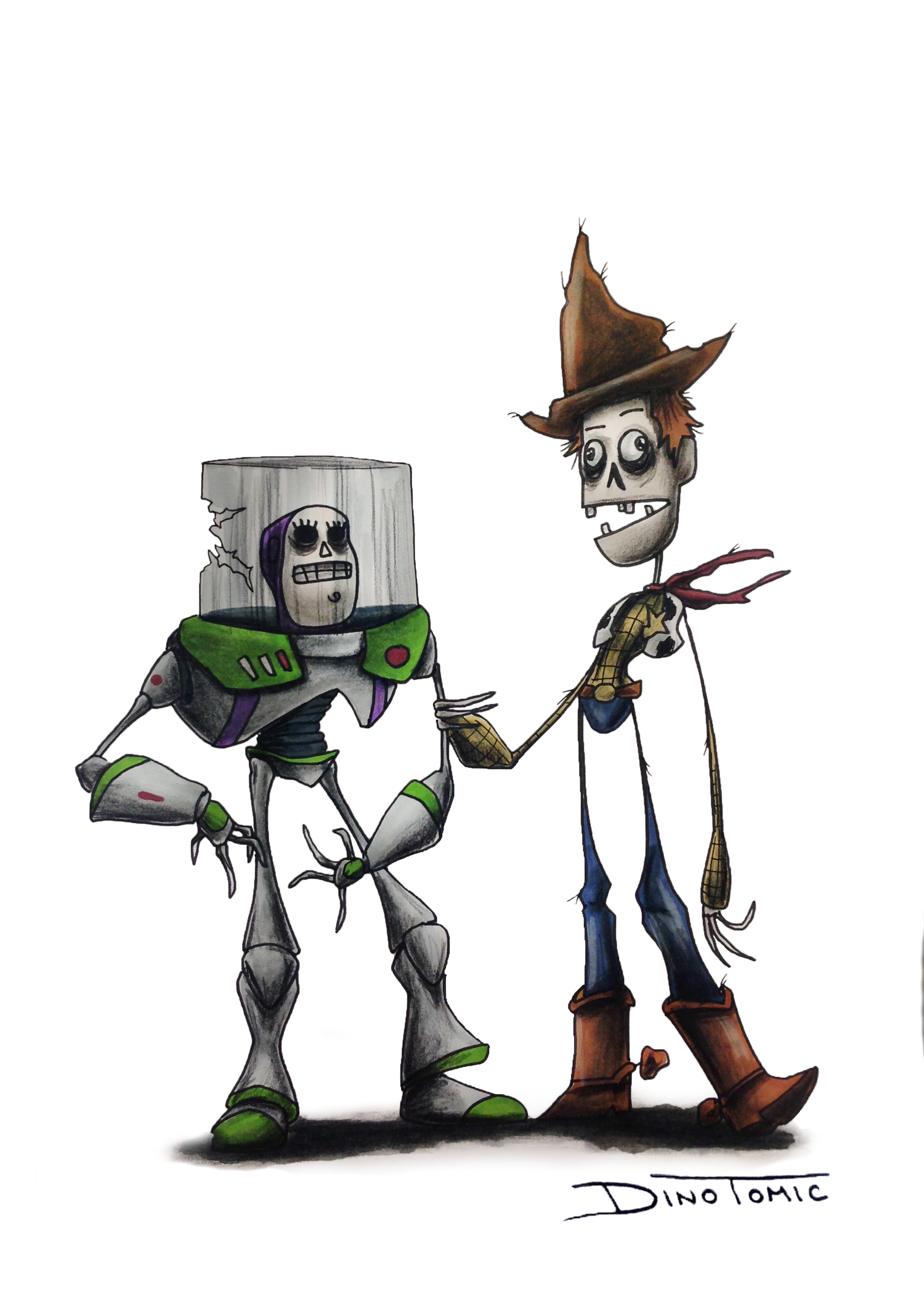 Image of #76 Woody and buzz