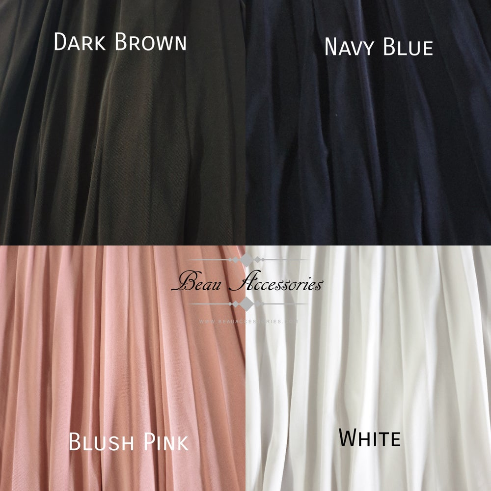 Image of Pleated Plazzo Pants (all colours)