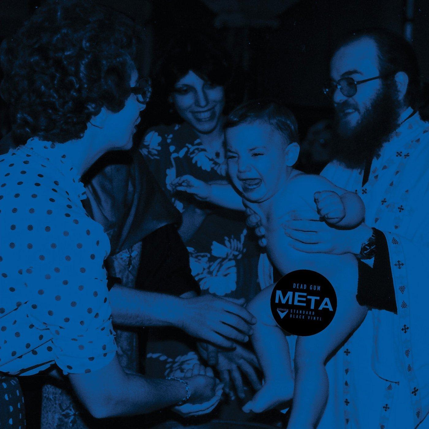 Image of DEAD GUM - Meta LP  [ltd.200 BLACK Vinyl]