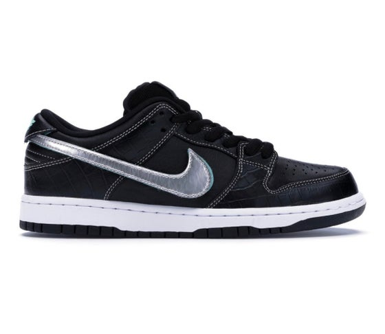 Image of Nike SB x Diamond Supply Co - Black - Size 6