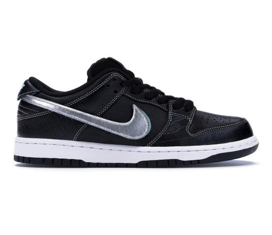Image of Nike SB x Diamond Supply Co - Black - Size 6