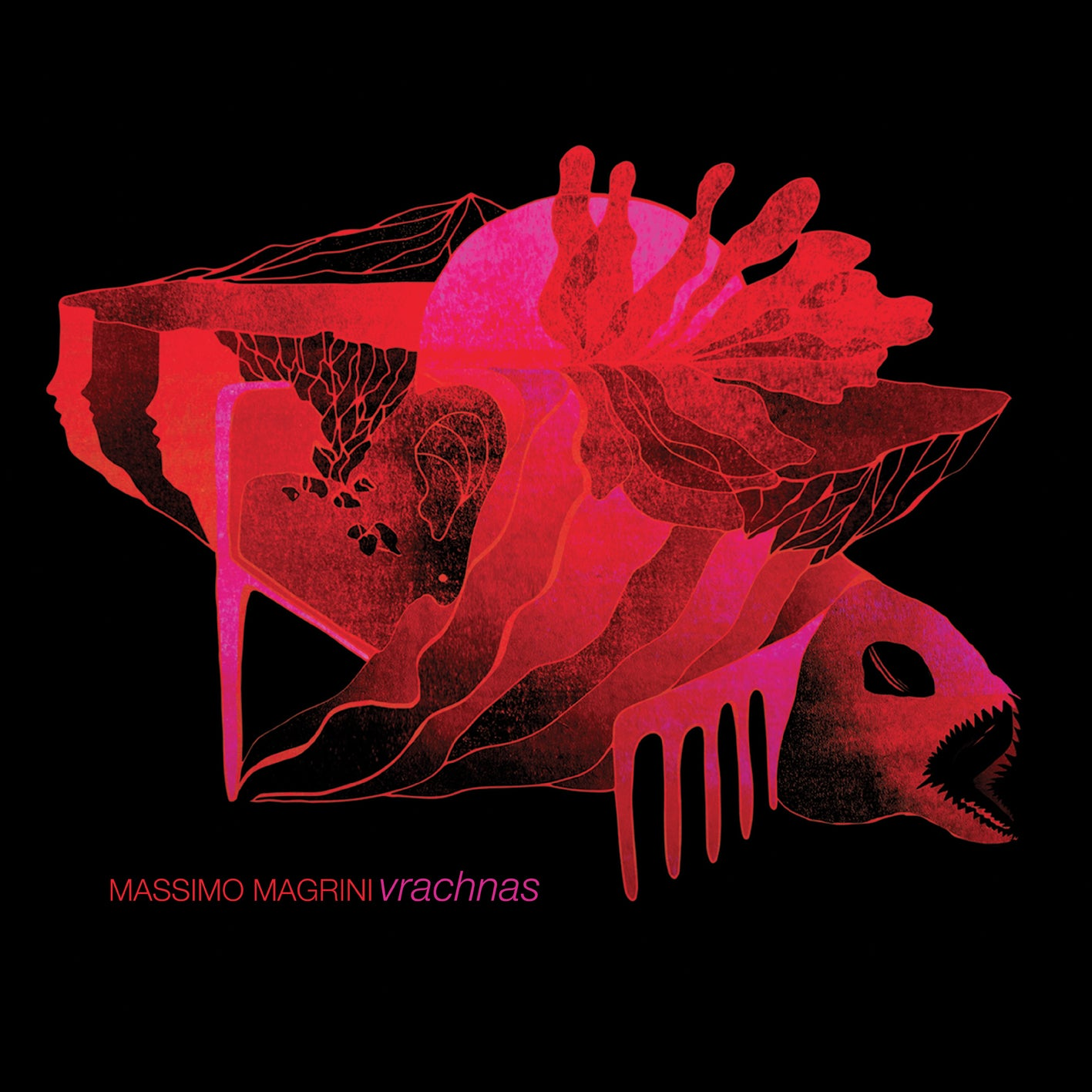 Image of MASSIMO MAGRNI (Bad Sector) - Vrachnas CD [ltd.400]
