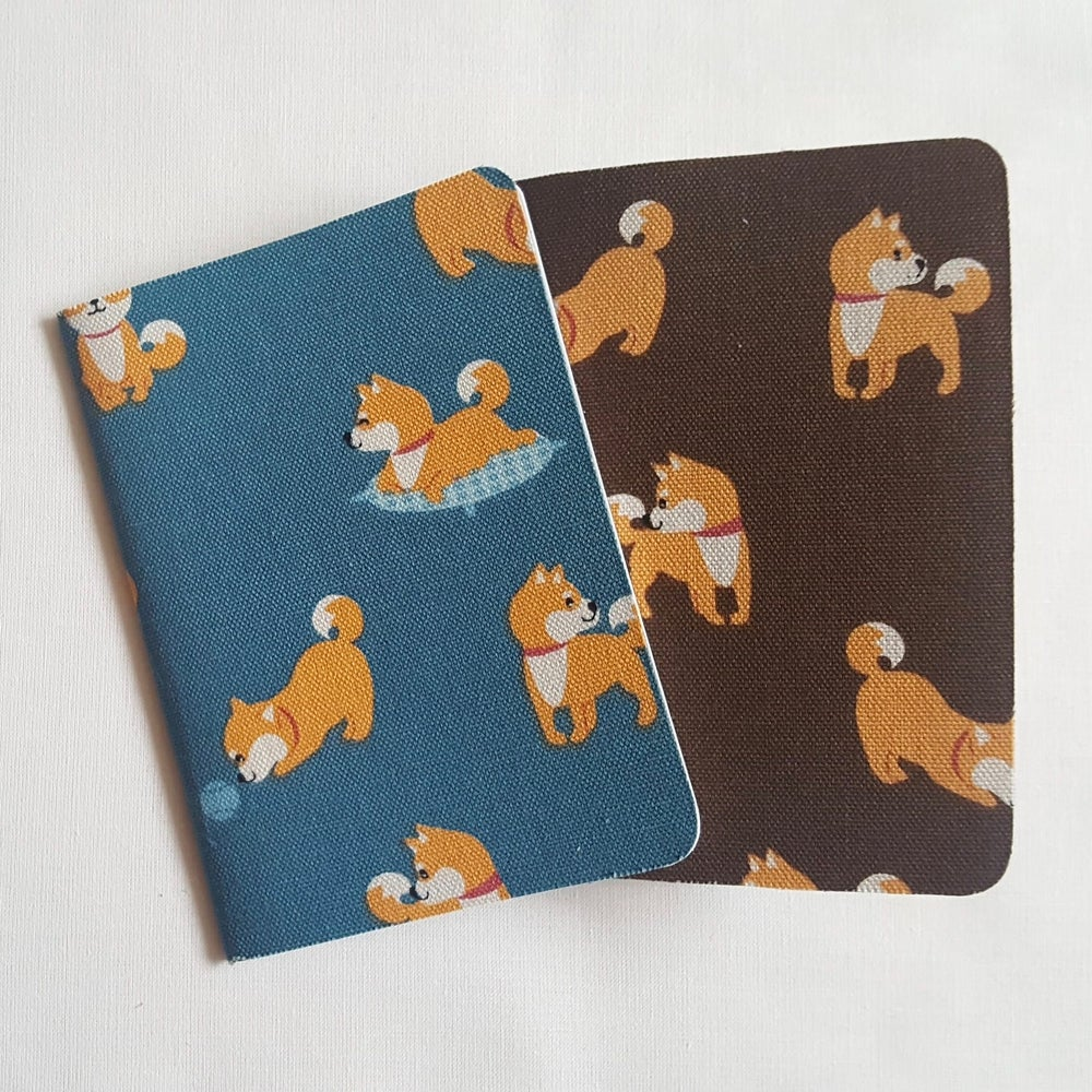 Image of Happy Shiba notebook (small)