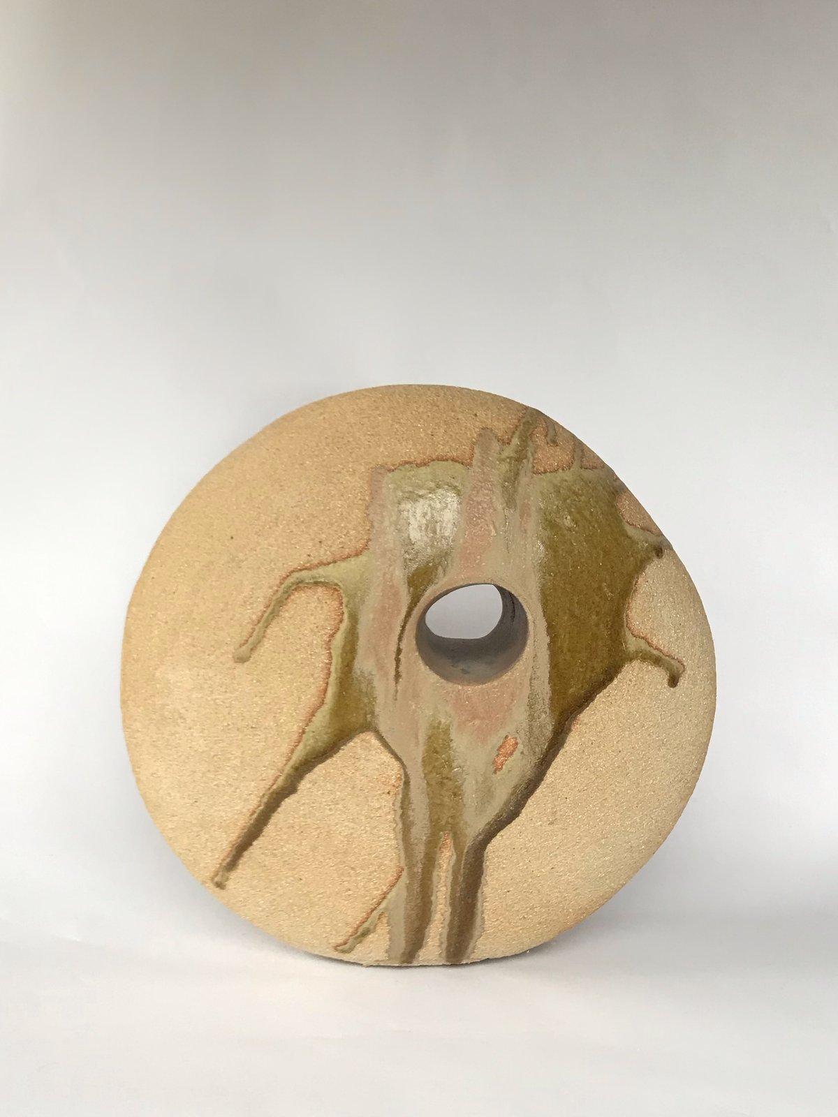 Image of Pierced Form; Splash