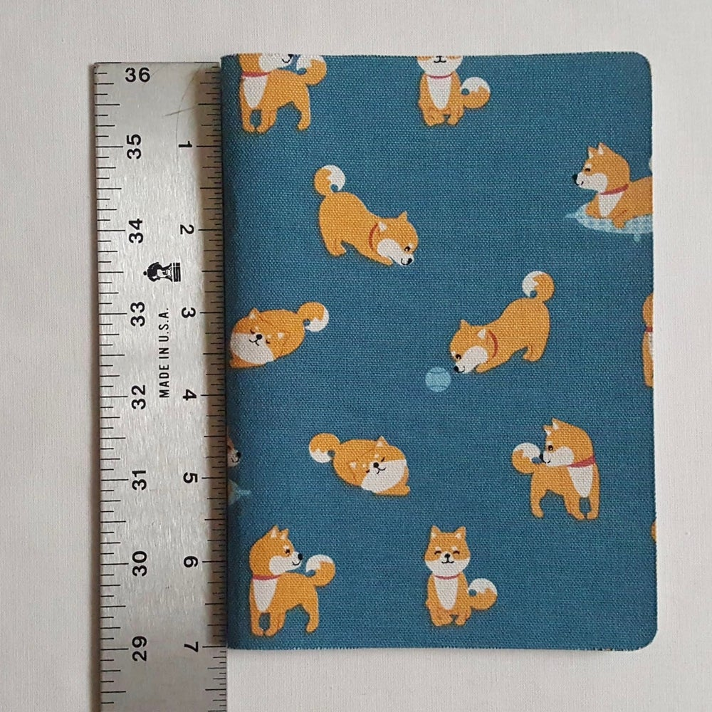 Image of Happy Shiba notebook (large)