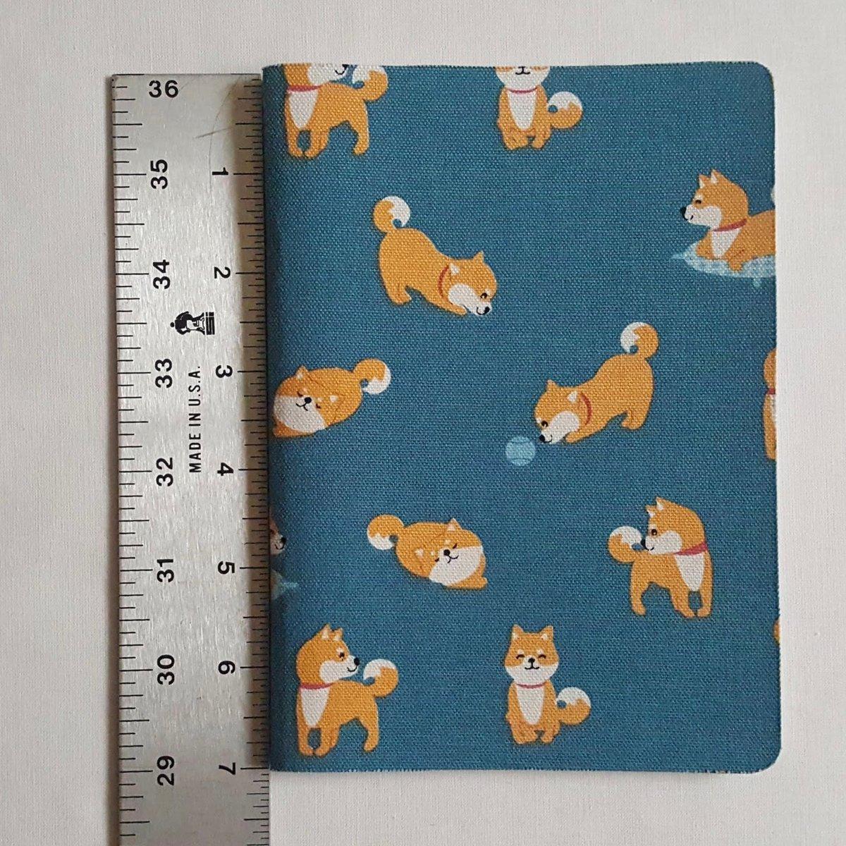 Image of Happy Shiba notebook (large)