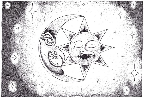 Image of SUN:MOON prints