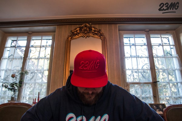 Image of SNAPBACK 23MG FULL RED
