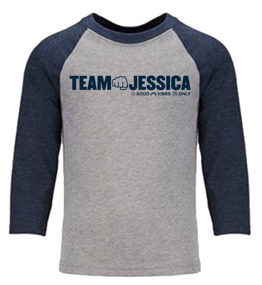 Image of Team Jessica Youth Baseball Tee