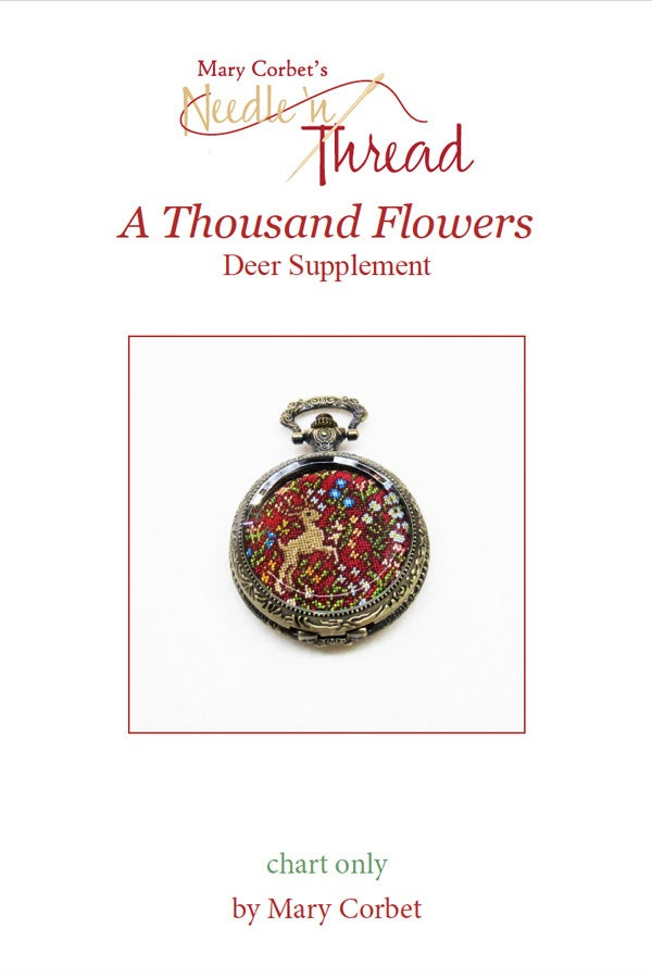 Image of Thousand Flowers Deer Supplement Chart