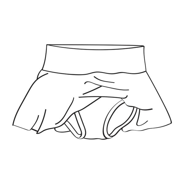 Image of Custom Skirted Bloomer