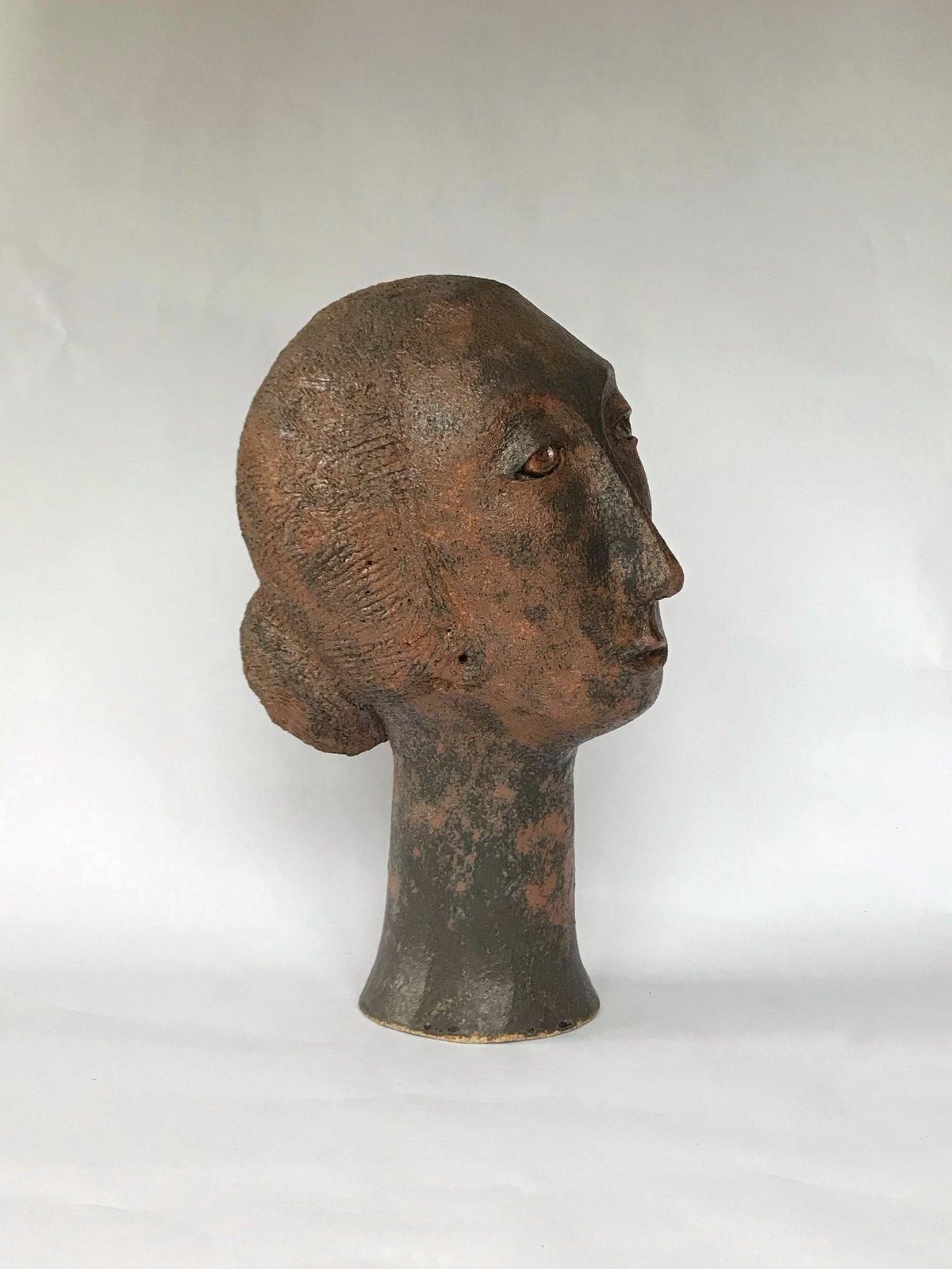 Image of Head; Bronze