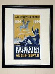 Image of Rochester Centennial Poster Stamp