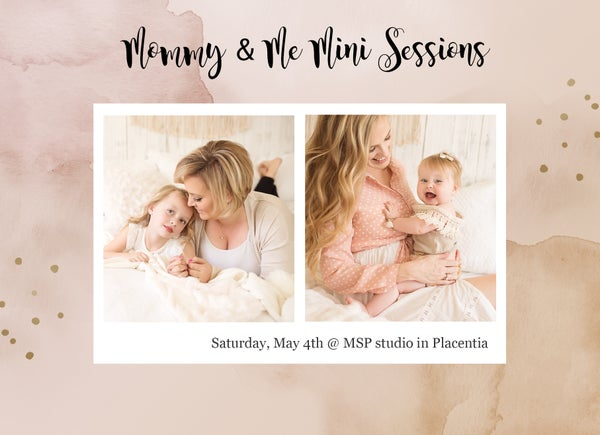 Image of Mommy and Me Mini Sessions in Studio