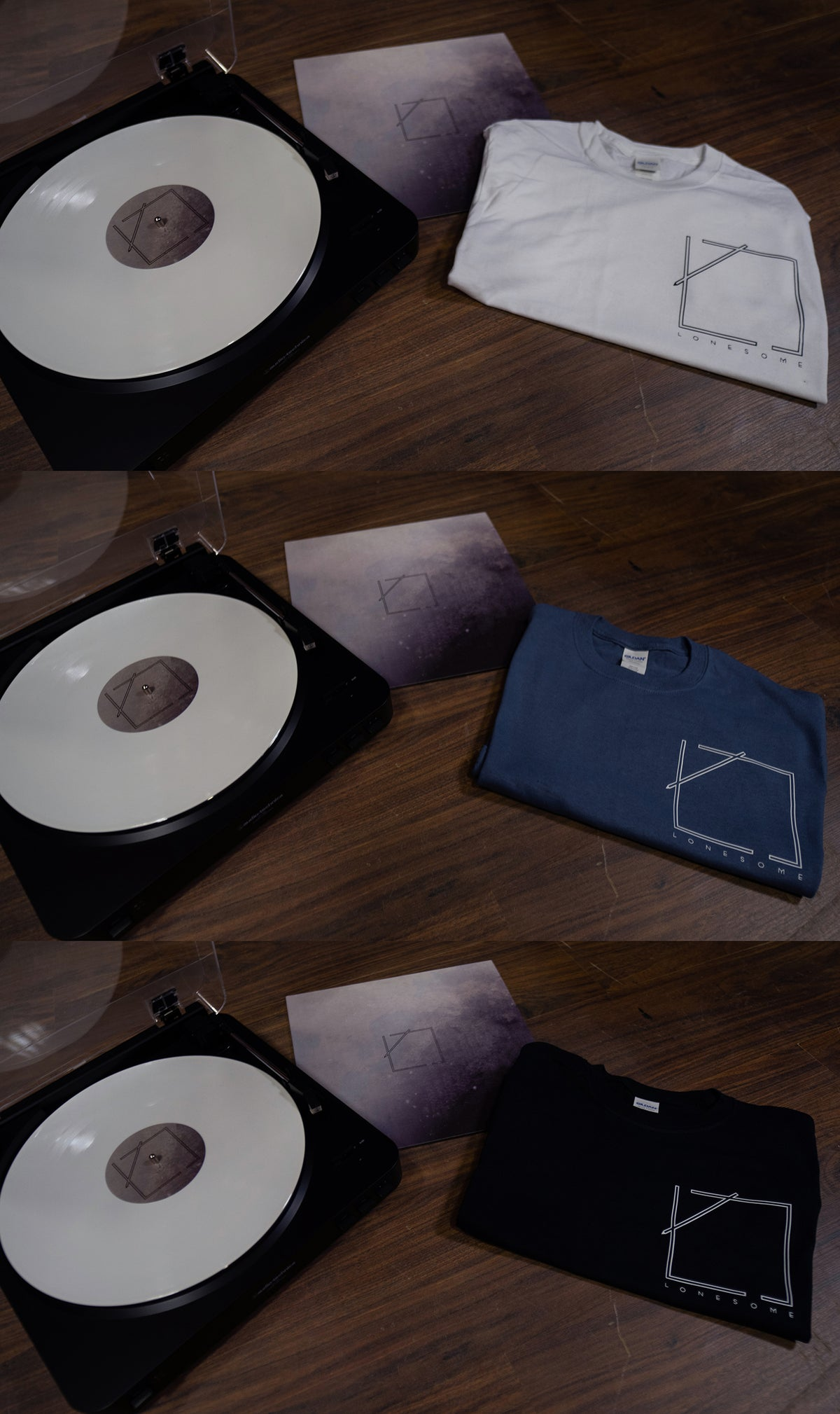 Image of To Myself, From Myself Record/T-Shirt Bundle