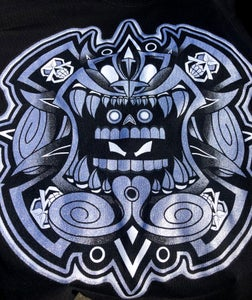 Image of UrbanAztec Logo Tee (Shadow) Metallic Silver and Black edition