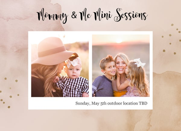 Image of Mommy and Me Outdoor Mini Sessions 2019