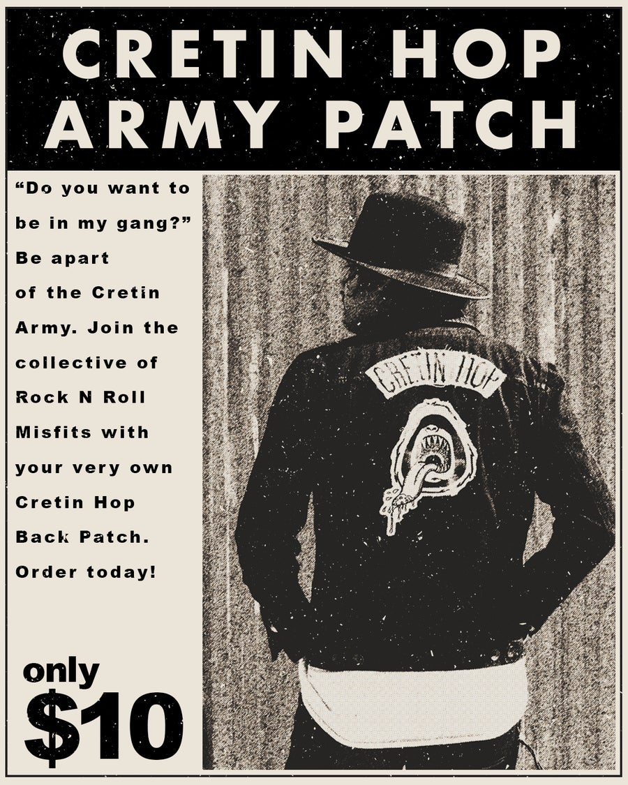 Image of Cretin Hop Army Patch