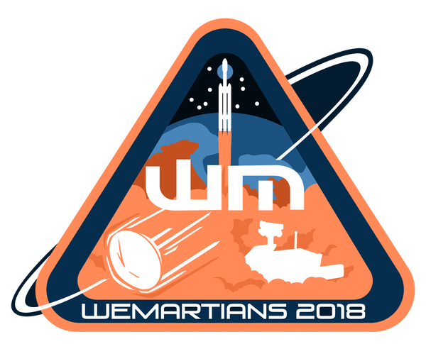 Image of Season 3 (2018) WeMartians Podcast Commemorative Mission Patch - LIMITED EDITION